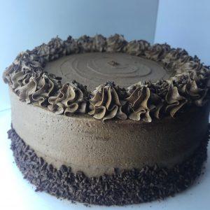 Torta de chocovainilla