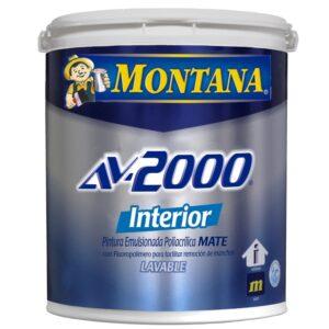 Pintura Montana Av 2000 Amarillo Alegre