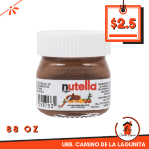 Nutella mini 88oz
