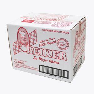Manteca Beiker (caja 15kg)