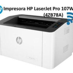 IMPRESORA HP LASERJET 107W MONOCROMÁTICA USB-WIFI