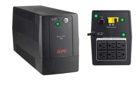 UPS APC BX1000L-LM